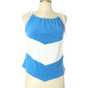 Charlotte Ronson Colorblock Sleeveless Top